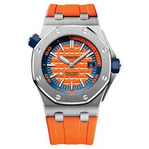 Audemars Piguet Royal Oak Offshore Diver Steel Orange Dial 42mm