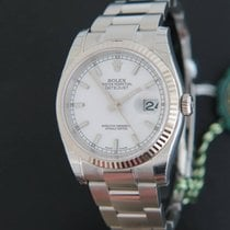 Rolex Datejust 116234 NEW White Dial