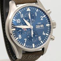 IWC Pilot's Watch Chronograph Le Petit Prince IW3777-14 Blue