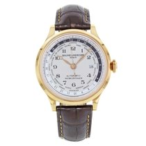 Baume & Mercier Capeland Rose gold 44mm White Arabic numerals United States of America, New York, NYC