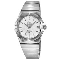 Omega Constellation Men Steel 38mm Silver United States of America, New York, New York