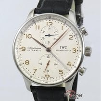 萬國 Portuguese Chronograph Iw371401 Box Papers