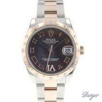 Rolex Chronomètre 31mm Remontage automatique 2011 occasion Lady-Datejust Brun
