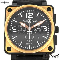 Bell & Ross BR 01-94 Chronographe подержанные 46mm Золото/Cталь