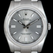 Rolex Oyster Perpetual 36 Steel 36mm Silver No numerals United Kingdom, London