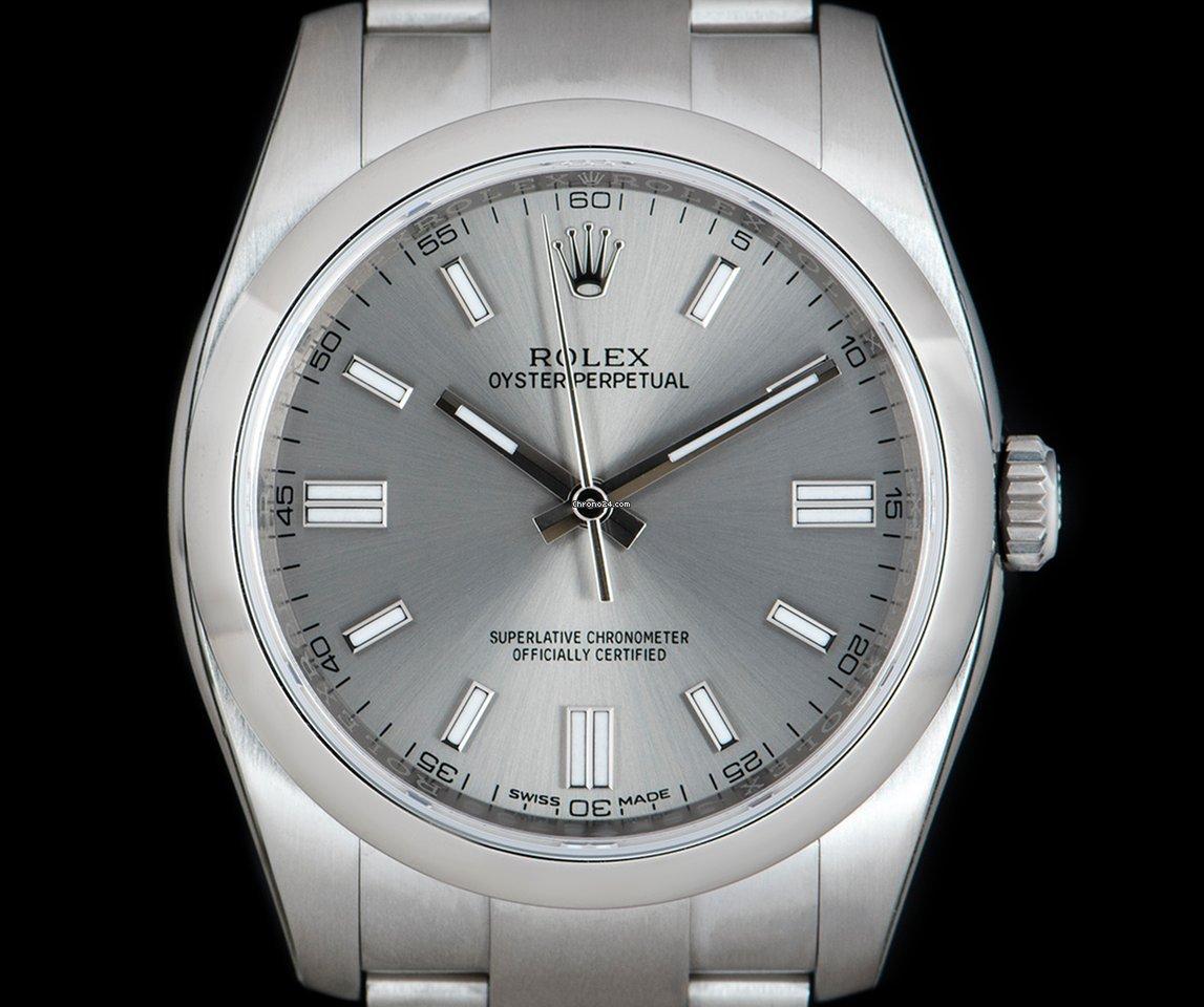 Rolex Oyster Perpetual - Todos os preços de relógios Rolex Oyster Perpetual  na Chrono24 4f39486de03