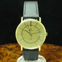 Stowa Geelgoud 33.5mm Quartz tweedehands