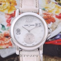 Ulysse Nardin Dual Time Steel 37mm Mother of pearl No numerals
