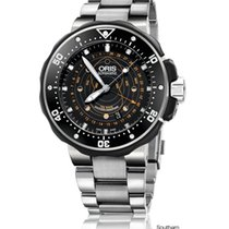 Oris ProDiver Pointer Moon 49mm Black No numerals