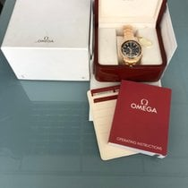 Omega Seamaster Planet Ocean Chronograph Rose gold 45,5mm Black No numerals