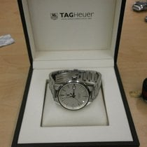 TAG Heuer Carrera Calibre 5 pre-owned 39mm Silver Date Steel