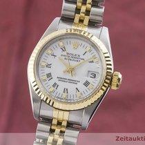 Rolex Lady-Datejust Arany/Acél 26mm Fehér