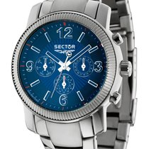 Sector Steel 43mm Quartz new