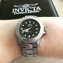 Invicta Gold/Steel 40mm Automatic pre-owned