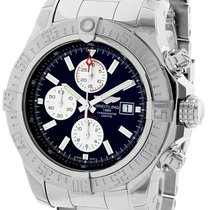 Breitling Super Avenger II new Automatic Watch with original box A13371111B1A1