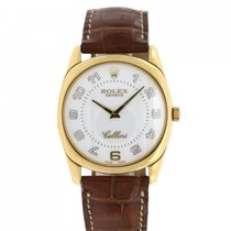 Rolex Cellini Danaos Yellow gold 34mm White