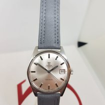 Omega Genève Steel 34mm White No numerals