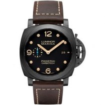 Panerai Automatic Black Roman numerals 44mm new Luminor Marina 1950 3 Days Automatic