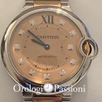 Cartier Ballon Bleu 36mm 3284 Não usado Ouro/Aço 36mm Automático