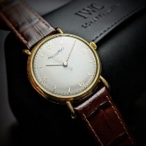 IWC Yellow gold 36mm Manual winding pre-owned