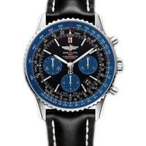 Breitling Navitimer 01 azul becerro Edición limitada