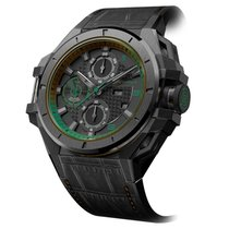 Snyper Ironclad Steel PVD Black Green Edition
