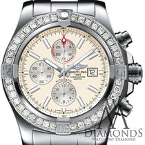 Breitling Super Avenger II new Automatic Chronograph Watch with original box and original papers