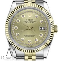 Rolex Lady-Datejust Gold/Steel 26mm Champagne United States of America, New York, New York