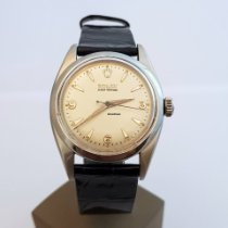 Rolex Silver Manual winding Silver Arabic numerals 34mm pre-owned