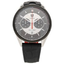 TAG Heuer Carrera Calibre 1887 Steel 45mm Black No numerals United Kingdom, Liverpool