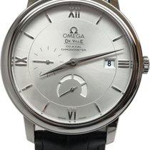 Omega De Ville Prestige Steel 39,5mm Silver Roman numerals