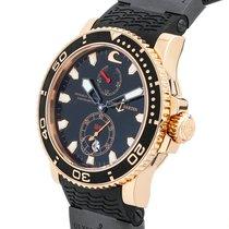 """Ulysse Nardin Pre-Owned  """"Black Surf"""" Marine Diver Limited..."""