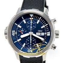 IWC Aquatimer Chronograph Acciaio 44mm Blu Senza numeri Italia, VICENZA