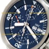 IWC Aquatimer Chronograph nuevo 2020 Automático Cronógrafo Reloj con estuche y documentos originales IW376805 IWC Cousteau SUB Aquatimer Chronografo 44mm Cinturino Gomma