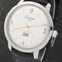 Glashütte Original Sixties Panorama Date nouveau 2021 Remontage automatique Montre avec coffret d'origine et papiers d'origine 39-47-01-02-04