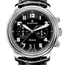Blancpain Léman Fly-Back new 2020 Automatic Watch with original box and original papers 2885F-1130-53B