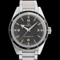 Omega Seamaster 300 Co-Axial Master Chronometer Black Steel...