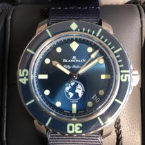 Blancpain Fifty Fathoms Steel 40,3mm Blue