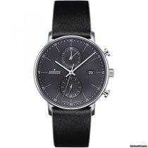 Junghans FORM C new Quartz Chronograph Watch with original box and original papers 0414876.00