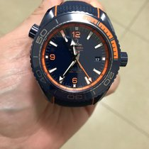 Omega Seamaster Planet Ocean Ceramic 45.5mm Blue Arabic numerals United States of America, New York, Brooklyn