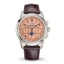 Patek Philippe 5270P-001 Platine 2019 Perpetual Calendar Chronograph nouveau