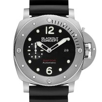 Black-Out Concept Steel 47mm Automatic BOCR02 new