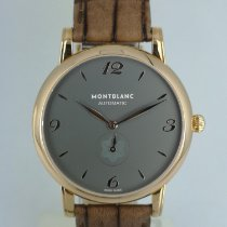 Montblanc Rose gold Automatic Grey Arabic numerals 39mm new Star Classique