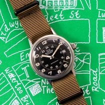 Glycine Steel 36mm Automatic Vintage Glycine Combat 645 pre-owned United Kingdom, Waltham St Lawrence