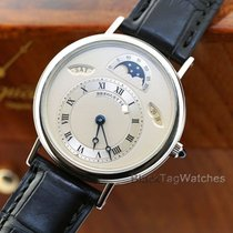 Breguet Platinum Automatic Silver 36mm pre-owned Classique Complications