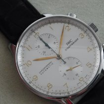 IWC Portugieser Chronograph 3714 Sehr gut Stahl 41mm Automatik Deutschland, Buxtehude