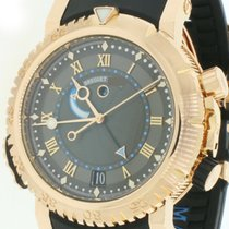 Breguet 45mm Automatic pre-owned Marine Brown