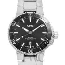 Oris Aquis Titanium Date Grey