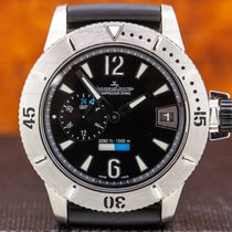 Jaeger-LeCoultre Master Compressor Diving GMT pre-owned 44mm Black Date GMT Rubber