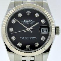 Rolex Lady-Datejust Steel 31mm Black No numerals United States of America, New York, New York